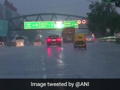 Heavy Rain In Parts Of Delhi, Haryana; Weather Department Issues Advisory