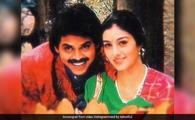 ICYMI: Tabu's Special Post For Her Debut Film With Venkatesh Daggubati