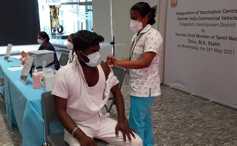 Daimler India Begins Vaccinating Truck Drivers At Its Tamil Nadu Plant