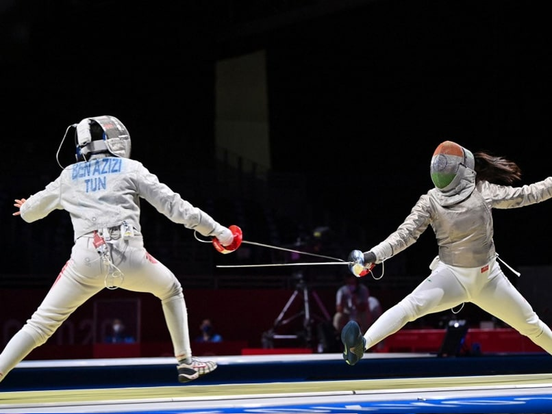 Tokyo Games: Bhavani Devi Knocked Out After Winning Indias 1st Olympic Fencing Match