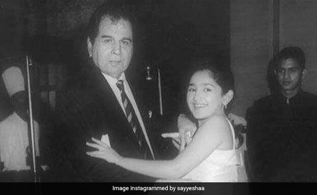 Saira Banu's Grandniece Sayyeshaa Saigal Remembers Dilip Kumar: 'Blessed To Have Spent My Childhood With The Legend'