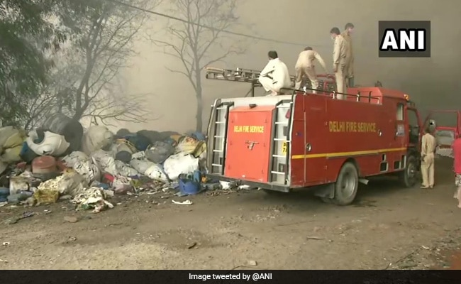 Fire At Open Godown In Delhi Doused After 10 Hours