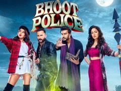 <i>Bhoot Police</i> New Poster: Make Way For Ghostbusters Saif Ali Khan, Jacqueline Fernandez, Arjun Kapoor And Yami Gautam