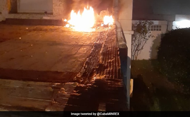 """Terrorist Attack"": Cuba Blames US After Molotov Attack At Paris Embassy"