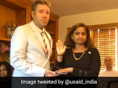 Veena Reddy Sworn In As USAID's First Indian-American Mission Director