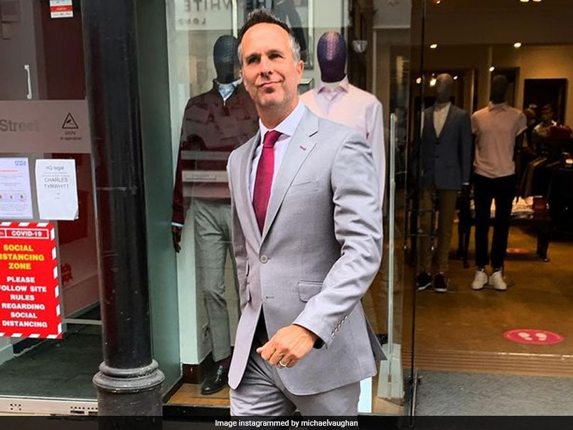 Photo of Michael Vaughan Shares Dapper Picture In A Suit, Ravindra Jadeja Reacts
