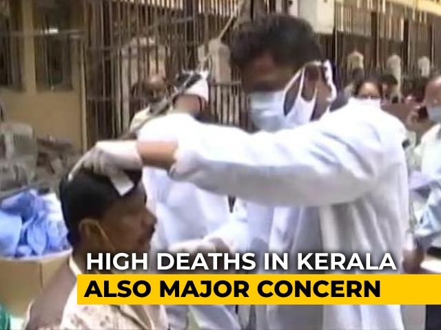 Video : Kerala Reports Over 22,000 New Covid Cases, 131 Deaths