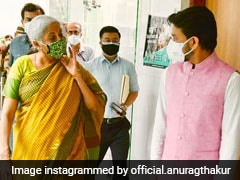 "BJP's Anurag Thakur Shares ""Memories"" With Nirmala Sitharaman"