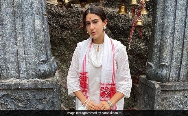 Sara Ali Khan Shares Pics From Assam's Kamakhya Temple. See Here