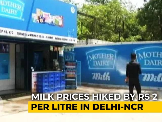 Video : Mother Dairy Hikes Milk Price In Delhi, Mumbai, Other Cities By Rs 2 Per Litre