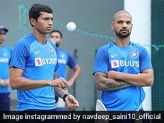 Sri Lanka vs India: Medical Team Handling Navdeep Saini's Injury, Says India Bowling Coach