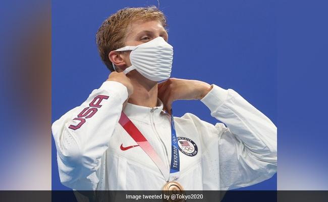Tokyo Olympics 2020: USA Swimming Team's Face Masks Spark A Meme Fest Online