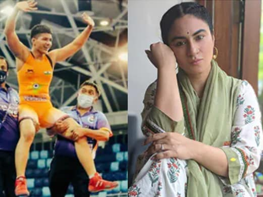 KFC Accidentally Tags Actor Priya Malik In Congratulatory Tweet For Gold Winning Wrestler
