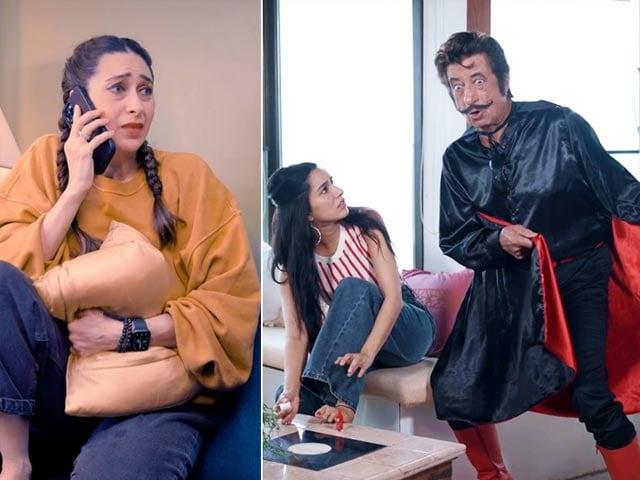 Video : Karisma Kapoor & Shraddha Kapoor Are Wondering Why 'Gogo is Back'