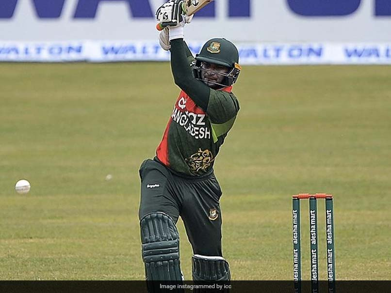 Shakib Al Hasan Stars For Bangladesh After Brendan Taylors Bizarre Dismissal
