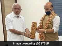 BS Yediyurappa Meets Rajnath Singh, Discusses Karnataka's Defence Ecosystem