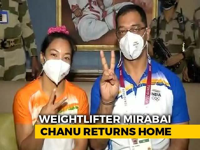 Video : Training In US Went Long Way Towards Ensuring Medal: Mirabai Chanu's Coach
