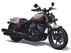 Indian Chief Unveiled In Tattoo-Inspired Livery