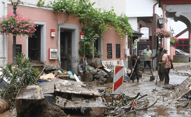 'Everything Was Under Water In 15 Minutes': Floods Tear Through Germany