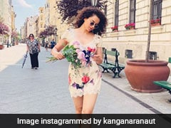 Kangana Ranaut's Style Diaries From Budapest Include This Chic Floral Mini Dress
