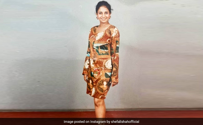 The Pic Shefali Shah Submitted For An Airline Job. This Mirzapur Actress Had Applied Too