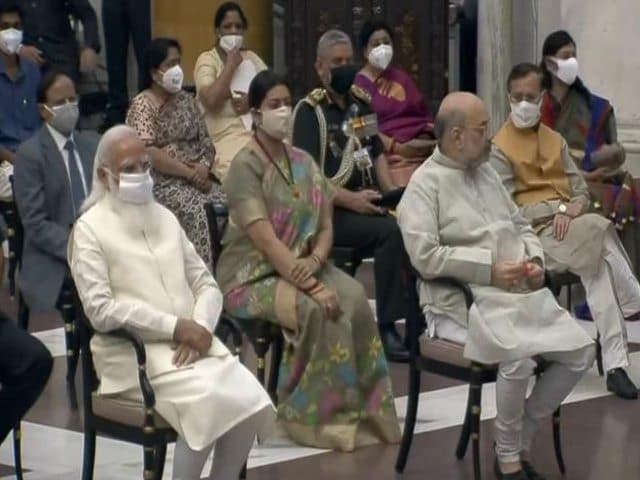 Video : 43 Ministers Take Oath In PM's Mega Overhaul, 7 Cabinet Ministers Sacked