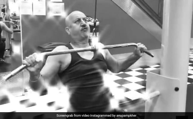 The Moustache: In Anupam Kher's 'Shortest Film Ever,' He Goes Into 'Beast Mode' In The Gym