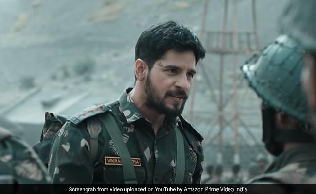 Trailer: Sidharth Malhotra As Captain Vikram Batra Brings 'Shershaah' To Life