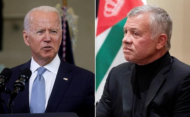 Joe Biden To Host Jordan's King Abdullah For Middle East Talks