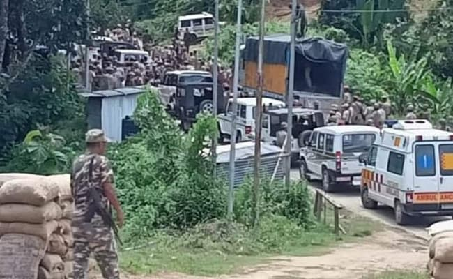 Assam Police Accused Of Theft By Neighbouring Mizoram