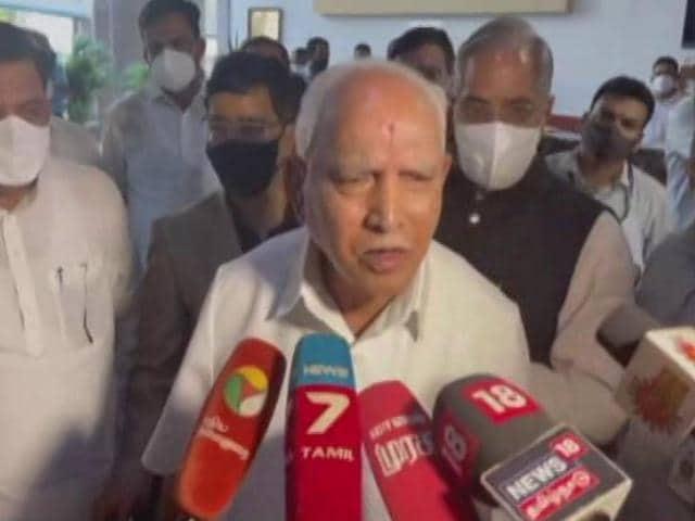 Video : BS Yediyurappa's Message To BJP In Tweets Amid Exit Rumours