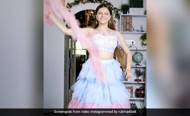 For Rubina Dilaik, 'Running From Gym To Red Carpet' Be Like...
