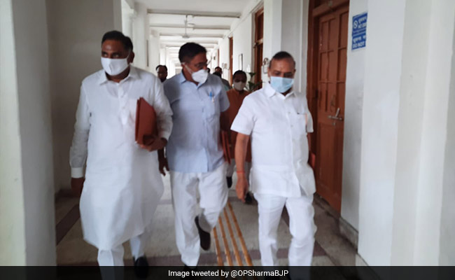 BJP MLA Suspended For A Day By Delhi Speaker, Marshals Called In
