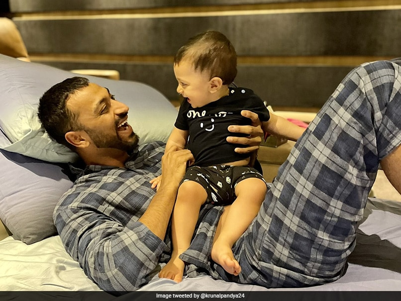 """""""Miss This Little Ball Of Sunshine"""": Krunal Pandyas Adorable Post For Nephew Agastya"""