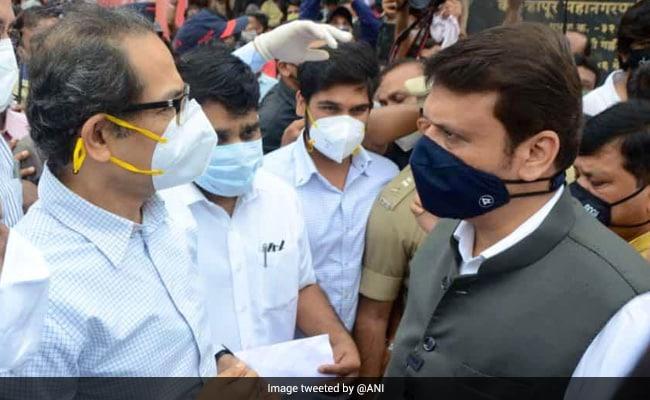 When Uddhav Thackeray, Devendra Fadnavis Landed At Same Spot, Same Time