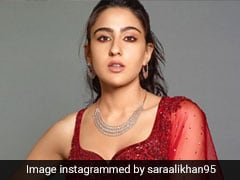 In A Red Sequin <i>Lehenga</i> Or Pink Floral One, Sara Ali Khan's Looks Always Top The Charts