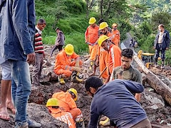 One Dead, 9 Feared Trapped After Landslide In Himachal's Kangra