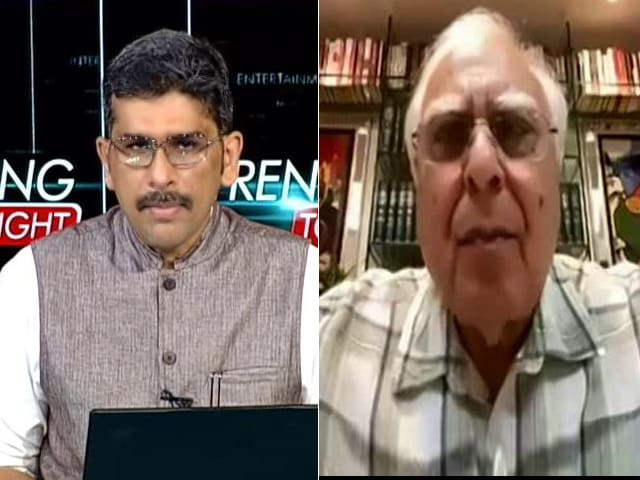 """Video : """"This Is Not About Politics But About National Security"""": Kapil Sibal On Pegasus Row"""