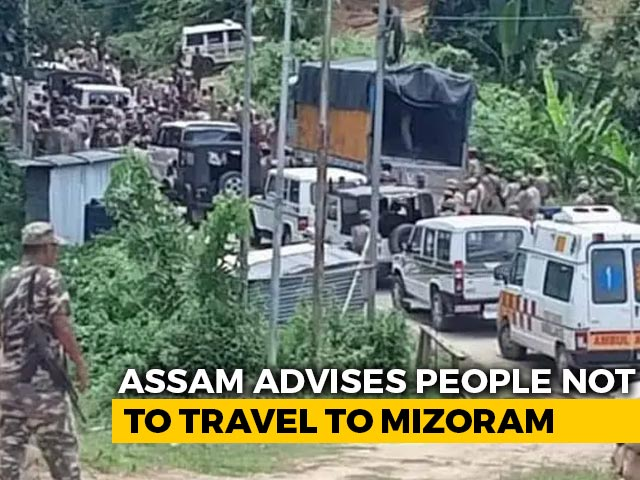Video : Now, Assam Orders Checking Of All Vehicles Entering From Mizoram