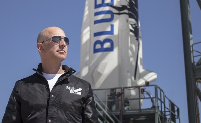 After Conquering Earth, Jeff Bezos Eyes New Frontier In Space