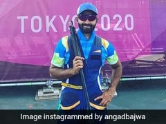 Tokyo Olympics: Shooter Angad Bajwa Has Finals In Sight In Men's Skeet Event