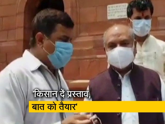 Video : कृषि कानून पर NDTV से बोले नरेंद्र तोमर; किसान अपना प्रस्ताव लेकर आएं, सरकार तैयार है