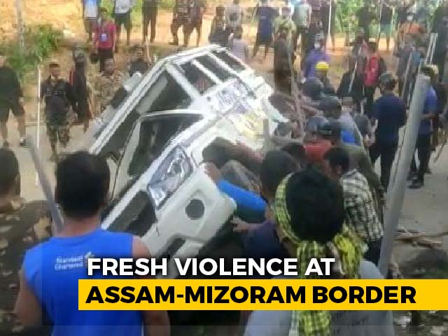Video : 5 Assam Cops Killed As Border Violence With Mizoram Escalates
