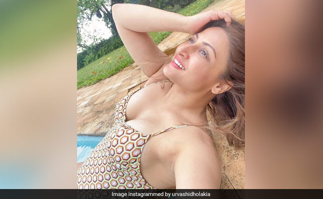 Water Baby Urvashi Dholakia Is Happiest In The Pool. Pics From Her Alibaug Diaries