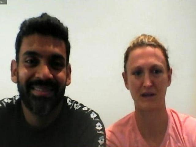 Video : Divij Sharan And Samantha Murray Sharan: The Power Couple At Wimbledon