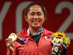 Tokyo Olympics: Weightlifter Hidilyn Diaz Of Philippines Hailed For Historic Gold