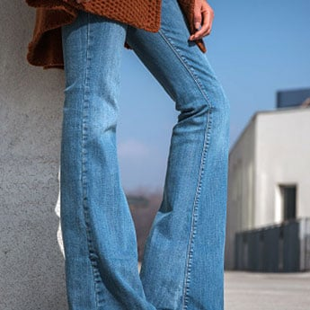 Swap Your Regular Jeans With These Classic Flared Jeans