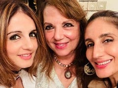 Here's How Sussanne Khan Made Her Mom's Birthday Special