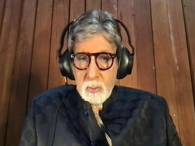 Video : We Need To Admire The Work Done By Our Doctors To Keep COVID-19 Mortality Under Check: Amitabh Bachchan