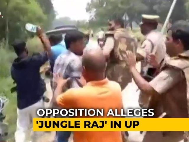 "Video : ""Jungle Raj"" Prevails In UP: Mayawati As Violence Mars Panchayat Polls"